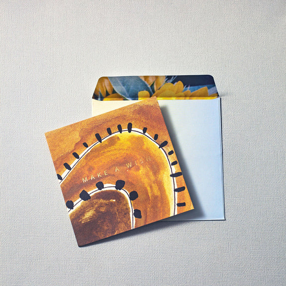 ART CIRCUS 'HAPPY BDAY VIBES' GREETING CARD + ENVELOPE SET - CHROMA STUDIO MELBOURNE