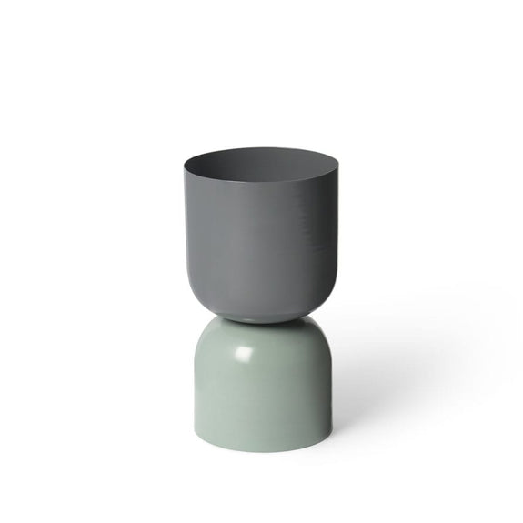 PLANTER TONE GOBLET GREY/SAGE - LIGHTLY - CHROMA STUDIO MELBOURNE