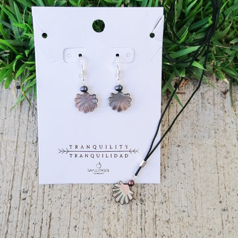 Mother of Pearl Set by Sayulita Sol Jewelry