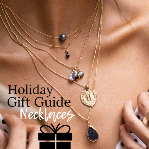 Gift Guide Necklaces from Sayulita Sol Jewelry