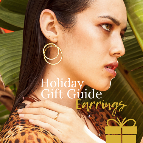 Holiday Gift Guide- Earrings by Sayulita Sol Jewelry
