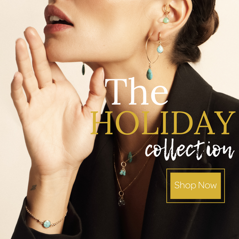 Shop our new holiday collection from Sayulita Sol Jewelry