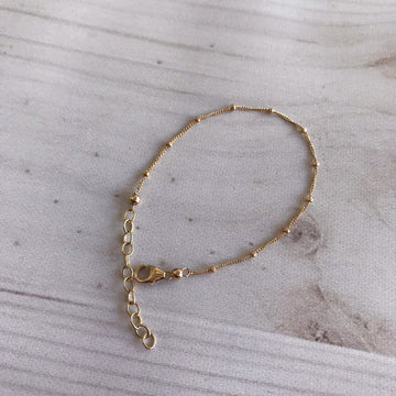 Element Gold Ball Bracelet - Sayulita Sol Jewelry