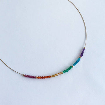 Gabriela Rainbow Necklace - Sayulita Sol Jewelry