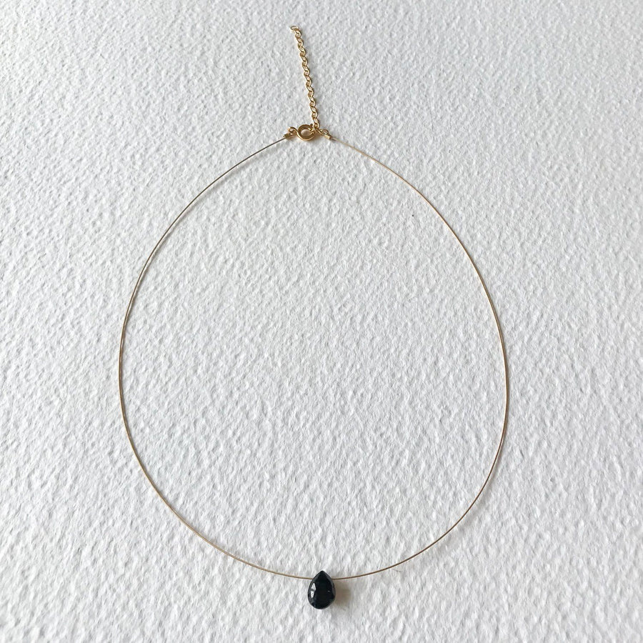 Luna Spinel and Gold Necklace - Sayulita Sol Jewelry