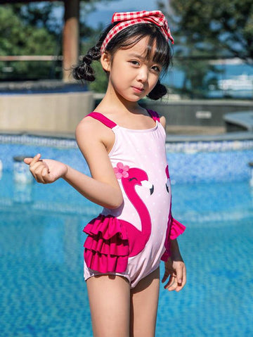 AONIHUA One Piece Lovely Princess Swimwear - Zebrant