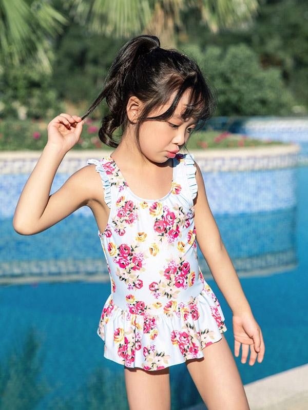 AONIHUA Lovely Bowknot Princess Swimwear