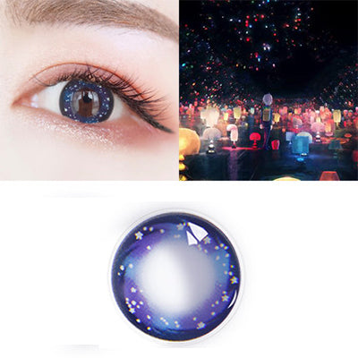 Night Purple Contact Lenses