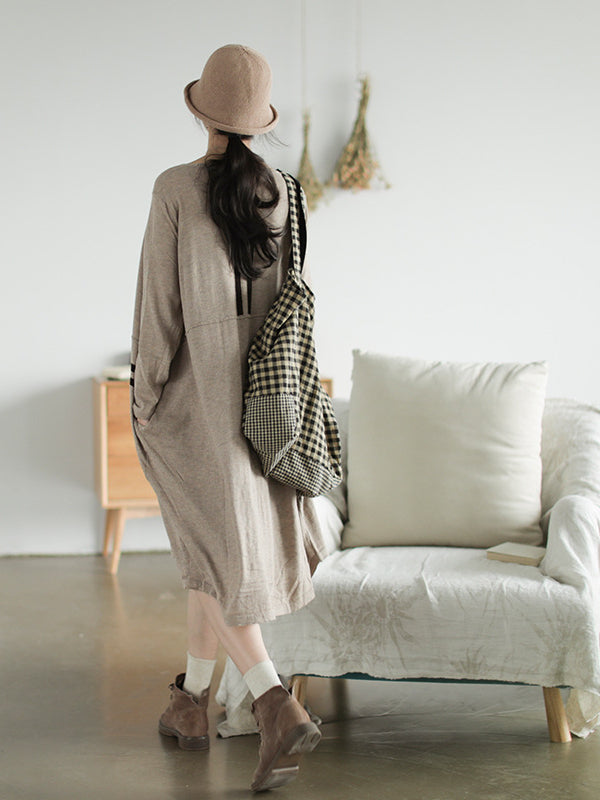 CASUAL LIGHT KNITTING OUTWEAR - Zebrant