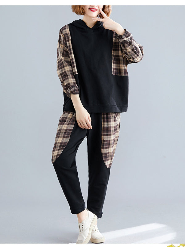 CASUAL PLAID SPLIT-JOINT SUITS - Zebrant