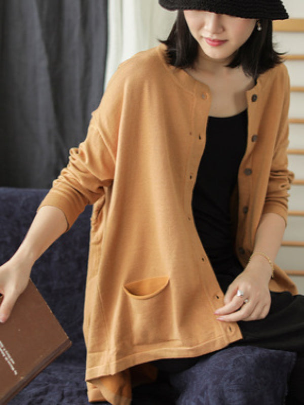 Casual Light Knitting Cardigan - Zebrant