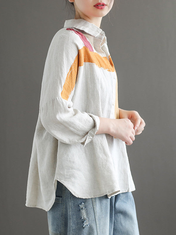 Casual Split-joint Leisure Shirt - Zebrant