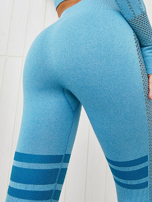 Seamless Tee&Fitness Leggings Suits ACTIVE WEAR - Zebrant