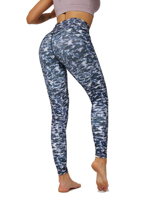 Fashion Printed Sports Yoga Leggings ACTIVE WEAR - Zebrant