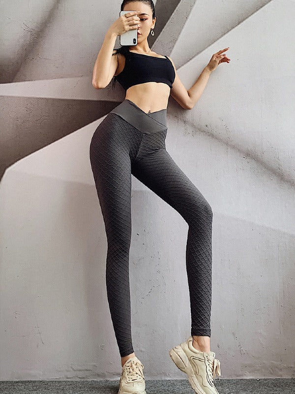 Mesh High Waist Breathable Yoga&Gym Leggings ACTIVE WEAR - Zebrant