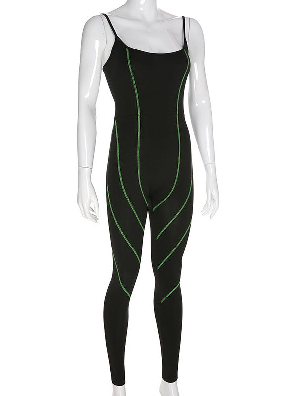 Fashion Yoga/Running Jumpsuit ACTIVE WEAR - Zebrant