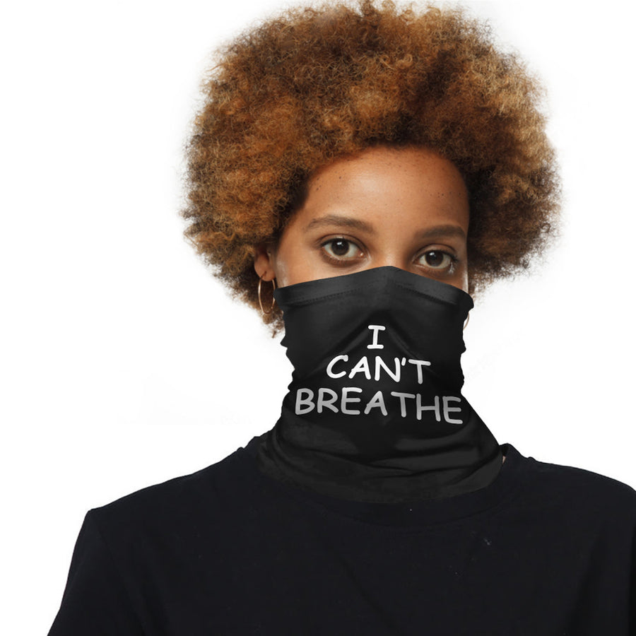 I CAN'T BREATHE riding mask magic turban scarf - Zebrant