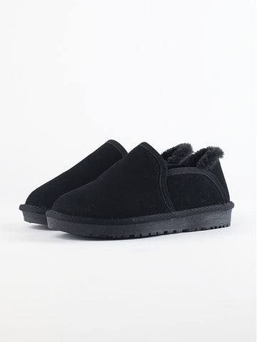 Suede Plus Velvet Short Boots Children