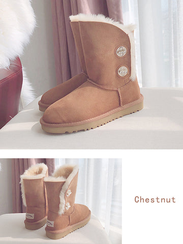 Waterproof Wool Fashion Boots Uggs - Zebrant