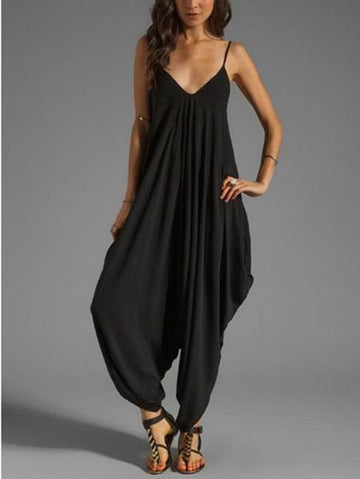 Stylish Summer Long Jumpsuits, Ten Colors - Zebrant