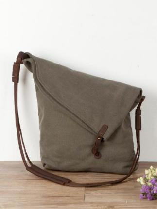 Casual One Stripe Book Canvas Bag - Zebrant