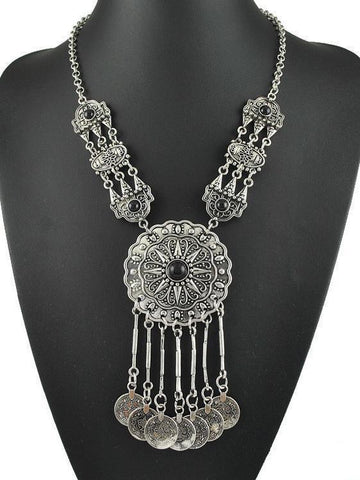 Authentic Aztec Style Alloy Necklaces in Solar Form - Zebrant
