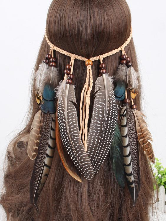 Peacock Feathers Headwear Accessories - Zebrant