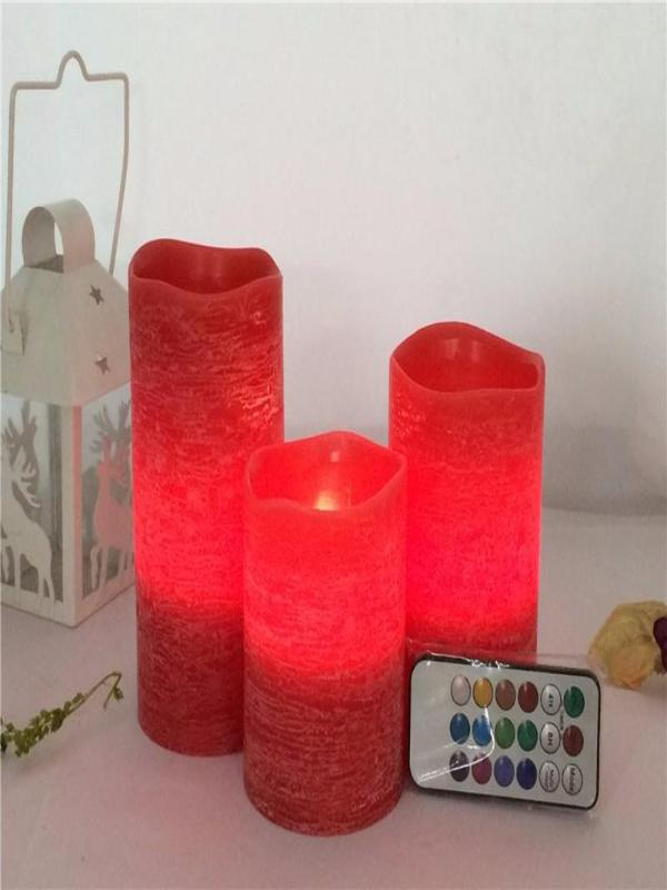 Decorative LED Candles  Different Changeable Colors, Christmas and Home Decor - Zebrant