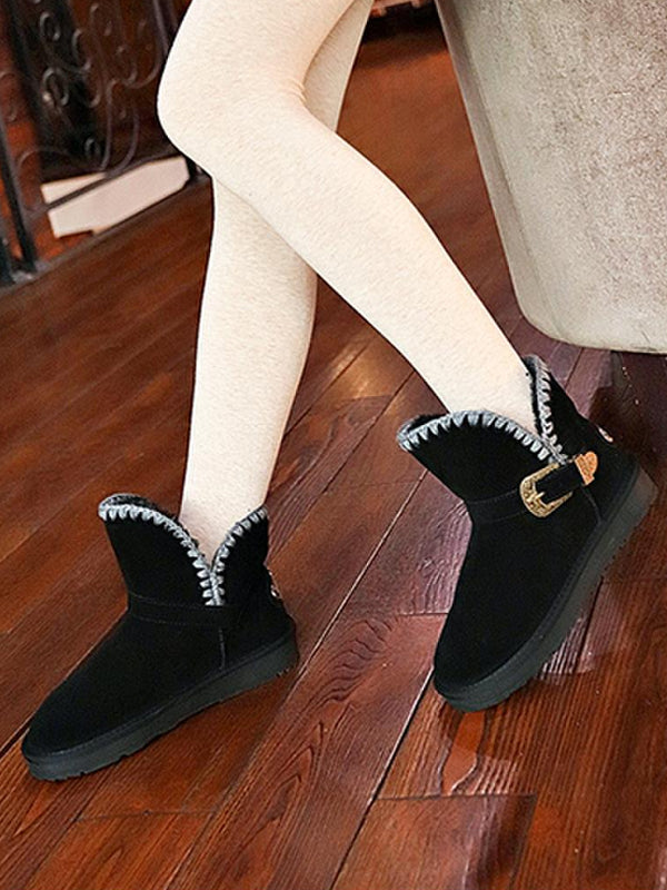 Winter Korean Style Uggs Snow Trendy Boots