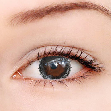 Mousse Black Contact Lenses