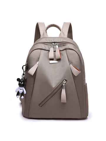 Women Casual Oxford Backpack Multi-function Shoulder Bag