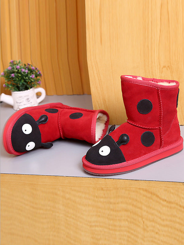 Warm Animal Cartoon Children'S Tube Cotton Boots
