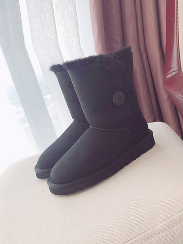 Wool Fashion Casual Woman Snow Boots Uggs - Zebrant