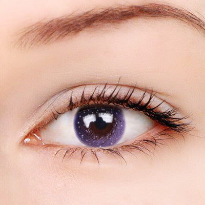 Galaxy Purple Contact Lenses - Zebrant