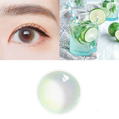 Night pearl Green Contact Lenses - Zebrant