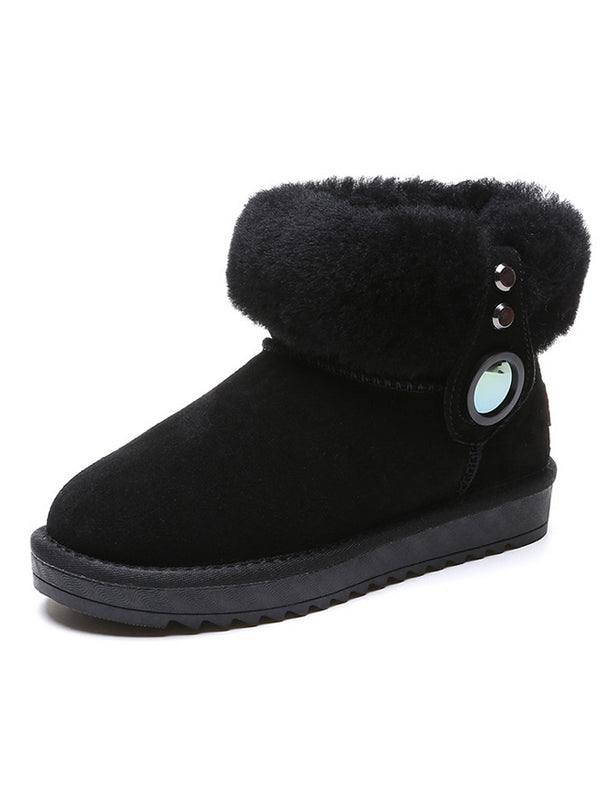 Wool Casual Outdoor Snow Boots Uggs