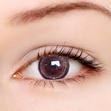 Moon Star Purple Contact Lenses