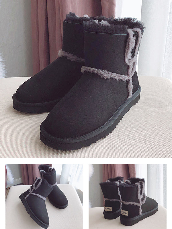 Artificial Australian Fur Pure Wool Short Boots Uggs