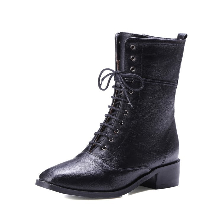 side zipper Martin Boots - Zebrant