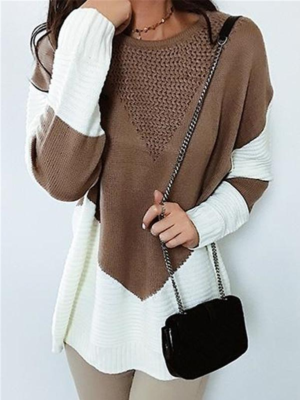 Fashion Hollow Sweater Tops - Zebrant