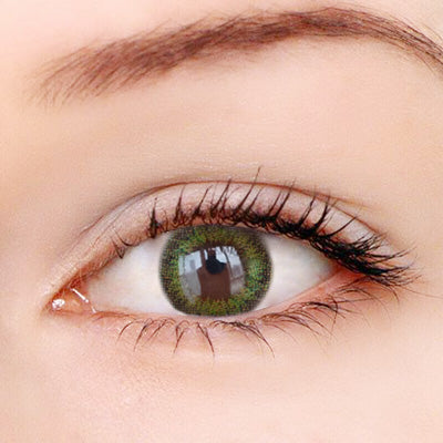 Retro Green Contact Lenses