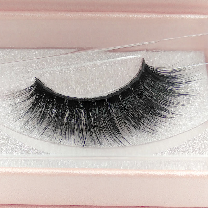 Reusable Natural 3D Mink False Eyelashes - Zebrant