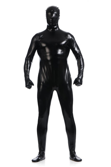 Men's Shiny Metallic Zentai Full Body Suit