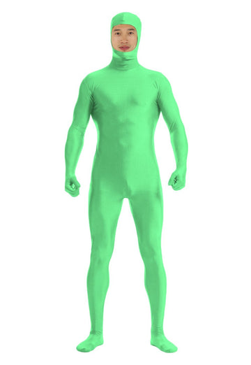 Spandex Open Face Full Bodysuit Zentai Suit - Zebrant