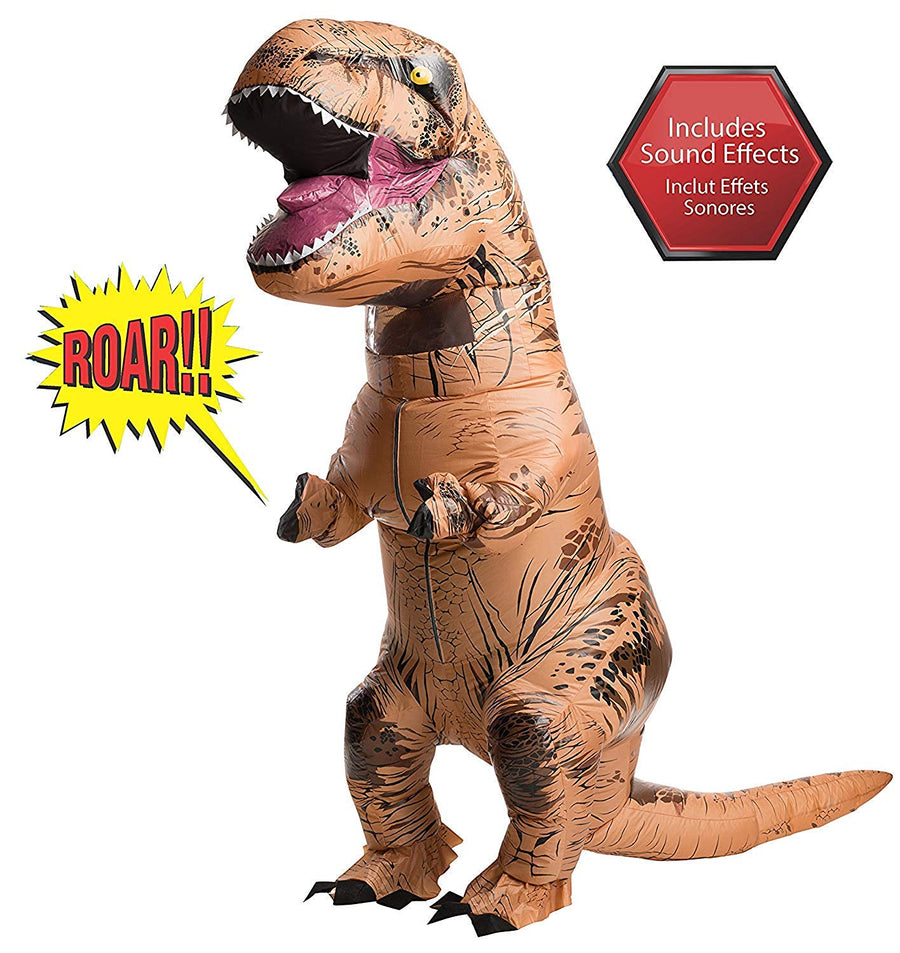 Rubie's Adult Official Jurassic World Inflatable Dinosaur Costume - Zebrant