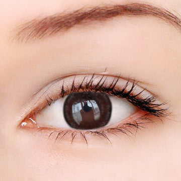 Summer Fluorescence Black Contact Lenses