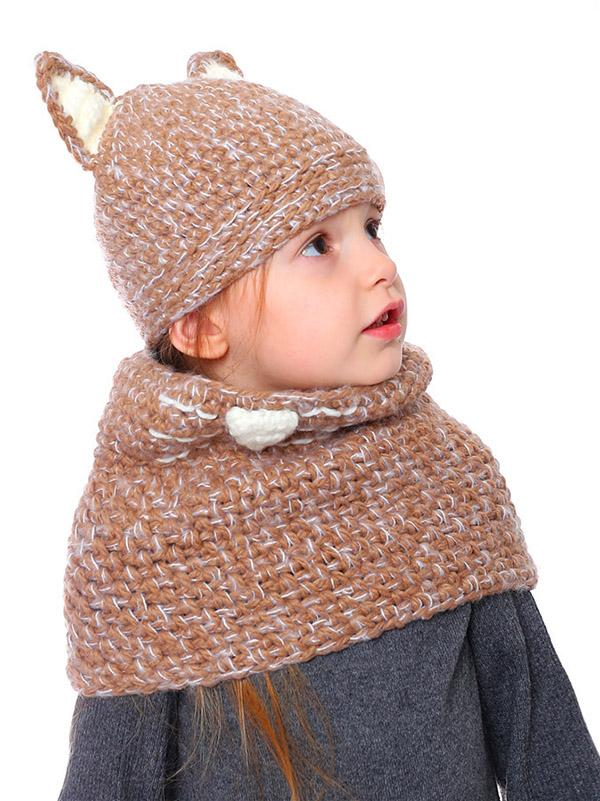 Handmade Cat Feature Scarf&Hat Accessories - Zebrant