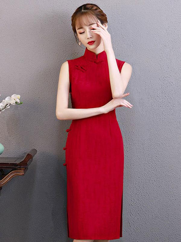 Comfortable Cotton Short Cheongsam - Zebrant