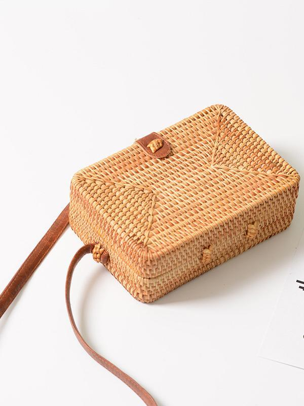 Original Handmade Handbag from Natural Material