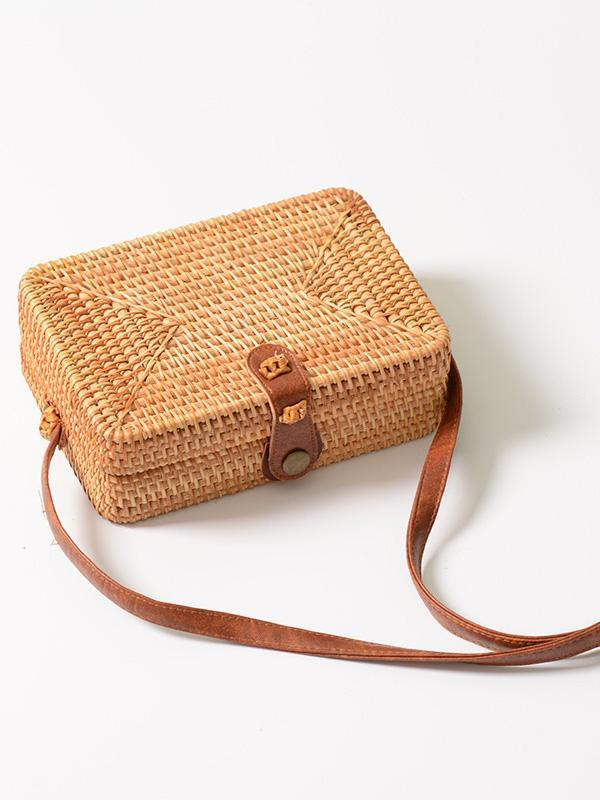 Original Handmade Handbag from Natural Material - Zebrant